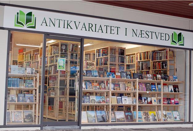 Antikvariatet i Næstved.